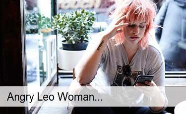 Angry Leo Woman