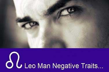 Leo Man Negative Traits